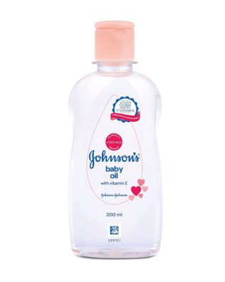 Johnson's Baby Oil with Vitamin E (200ml)