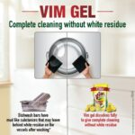 Vim Dishwash Gel – 750 ml (Lemon)