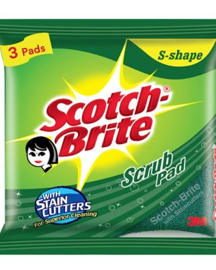 Scotch-Brite Scrub Pad (Regular) – Pack of 3
